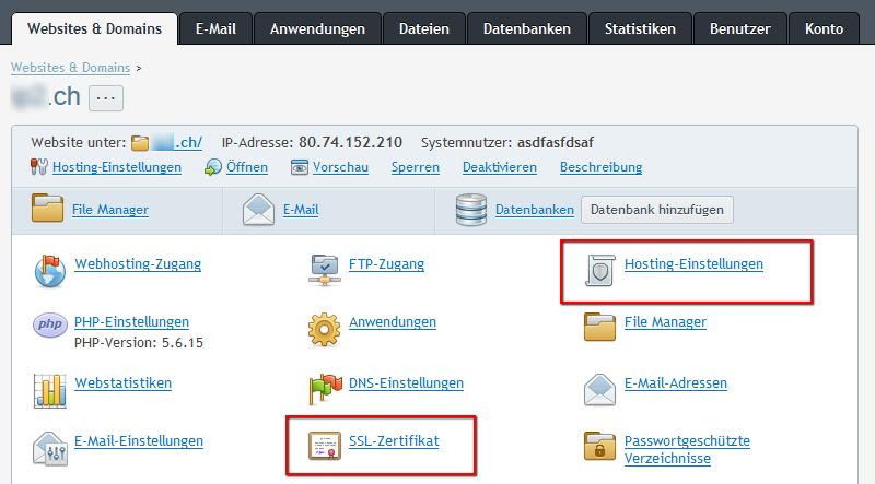 Einrichtung von gratis Let\'s Encrypt SSL-Zertifikaten ...